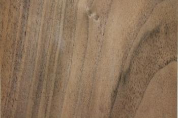 Nussbaumholz gedämpft, unbesäumt