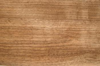 Nussbaumholz, ungedämpft und unbesäumt